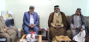 Iraqi Tribes from Holy Najaf Meet Public Relations Manager of Grand Ayatollah Sayid Sadiq Al-Shirazi