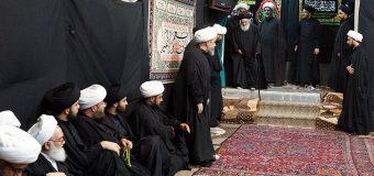 12th of Muharram 1440 AH/ 2018 Commemoration of Imam Hussain's Martyrdom at the Office of Grand Ayatollah Shirazi in Holy Qom.
