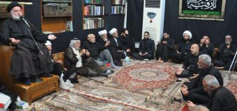 End of Commemorations at Office of Grand Ayatollah Shirazi in Holy Karbala