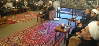 Ashura Commemorations at Office of Grand Ayatollah Shirazi in Beirut, Lebanon