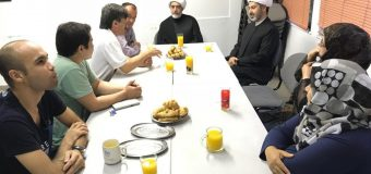 Representatives of Grand Ayatollah Shirazi Meet Shias in Athens