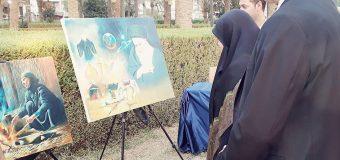 Imam Hussein TV Holds Exhibition in Baghdad Iraq