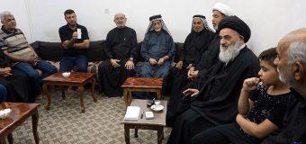 Shias from Basra Meet with Grand Ayatollah Shirazi
