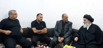 Religious Activists from Holy Karbala Meet with Grand Ayatollah Shirazi