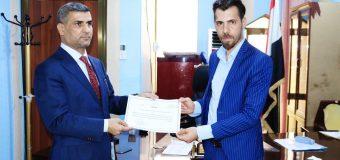 Deputy Governor of Basra Honors Sadiqiyah Cultural Society