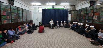 Groups of Clerics Meet with Sayed Hussain Shirazi