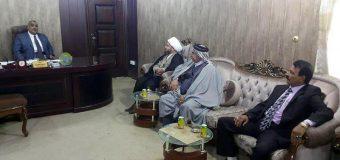 Representative of Grand Ayatollah Shirazi Visits Member of Najaf City Counsel
