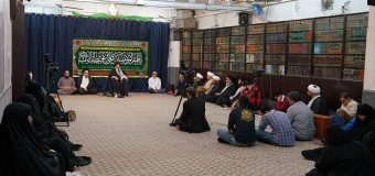 Shia Believers from Kuwait Visit Grand Ayatollah Shirazi at His Main Office in Holy Qom
