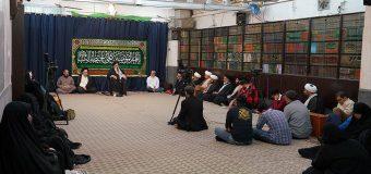 Shia Believers from Kuwait Visit Grand Ayatollah Shirazi at His Main Office in Holy Qom