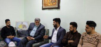 Cultural Activists Meet with PR Manager of Grand Ayatollah Shirazi