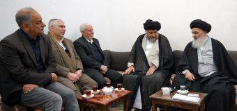 Group of Religious Activists Meet with Grand Ayatollah Shirazi