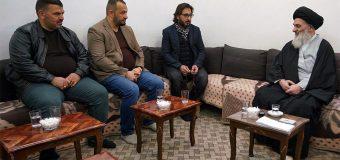 Board Manager of Shaaer TV Meets with Grand Ayatollah Shirazi
