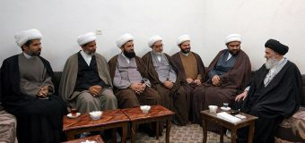 Members of AhlulBayt Institute from Basra Meet Grand Ayatollah Shirazi