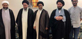 Representatives of Grand Ayatollah Shirazi Meet with Sayed Hussain Shirazi in Kuwait.