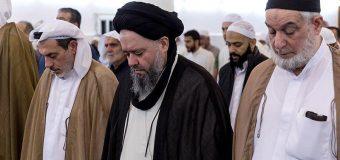 Sayed Hussain Shirazi Participates in Friday Prayers in Kuwait