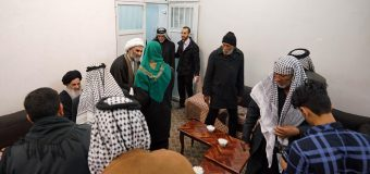 Pilgrimage Caravan of Roqayya from Iraq Meet Grand Ayatollah Shirazi.