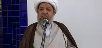 Representative of Grand Ayatollah Shirazi Makes Speech in Bahrain