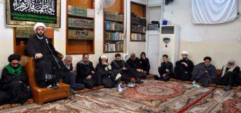 Memorials of Lady Fatimah Zahra at Offices of Grand Ayatollah Shirazi