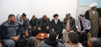 Ahbab Al-Hussain Community from Iraq Visits Grand Ayatollah Shirazi