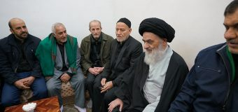 Karbalayis Society from Mashhad Meet Grand Ayatollah Shirazi