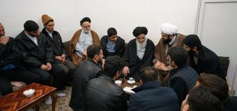 Young Religious Activists from Isfahan Meet with Grand Ayatollah Shirazi