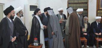 Office of Grand Ayatollah Shirazi in Karbala Hosts Clerics and Tribal Figures