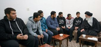 Young Shia Activists from Kuwait Meet with Grand Ayatollah Shirazi