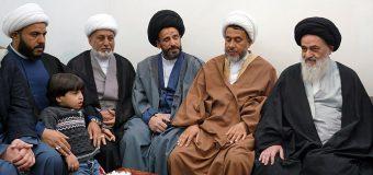 Shias from Baghdad Meet with Grand Ayatollah Shirazi