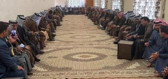 Representative of the Office of Grand Ayatollah Shirazi Meets Tribal Figures in Iraq