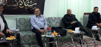 Distinguished Figures from Holy Karbala Meet The Public Relations Manager of Grand Ayatollah Shirazi
