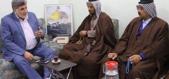 Public Relations Manager of Grand Ayatollah Shirazi Meets Iraqi Tribal Chiefs