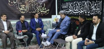 Delegations from Awtad Foundation Meet PR Manager of Grand Jurist