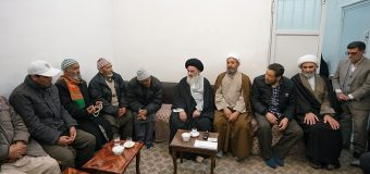 Shias from Kashmir Visit Grand Ayatollah Shirazi