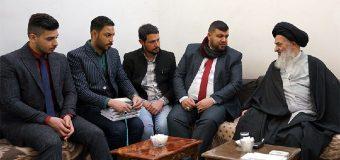 Several Iraqi Officials Meet Grand Ayatollah Shirazi in Holy Qom