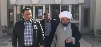 Representative of Grand Ayatollah Shirazi Visits Al-Zahra Hospital