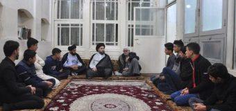 Members of Rasul Azam Quran Center Visit Office of Grand Ayatollah Shirazi