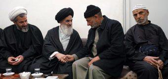 Pilgrimage Caravan from Iraq Visit Office of Grand Ayatollah Shirazi