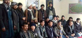 Representatives of Grand Ayatollah Shirazi Meet in Kabul Afghanistan