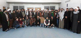 Representative of Grand Ayatollah Shirazi Visits Zainabiya Seminary in Syria