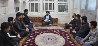 Cultural and Religious Activists Visit Office of Grand Ayatollah Shirazi in Karbala