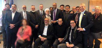 Representative of Grand Ayatollah Shirazi Participates in Immigrants Meeting in Canada
