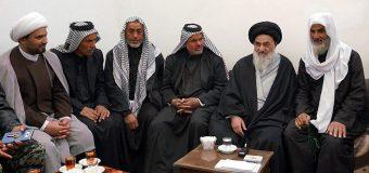 Members of AhlulBayt Caravan Visit Grand Ayatollah Shirazi in Holy Qom