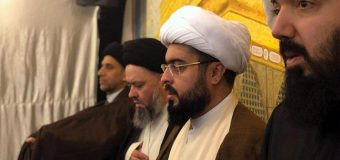 Sayed Hussain Shirazi Visits Imam Sajjad Husayniya in Kuwait