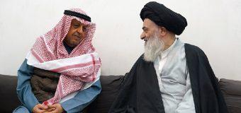 Member of Kuwait's Shia Endowment Office Meets Grand Ayatollah Shirazi