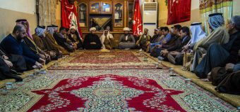 Chiefs of Shimar Tribe Host Delegations from Marjaeyat TV