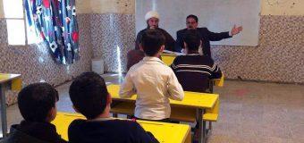 Representative of Grand Ayatollah Shirazi Visits Elementary School in Babylon