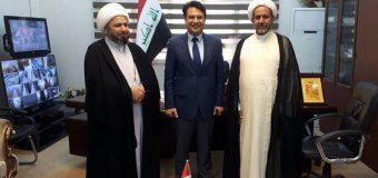 Office of Grand Ayatollah Shirazi Sends Delegates to Kufa University