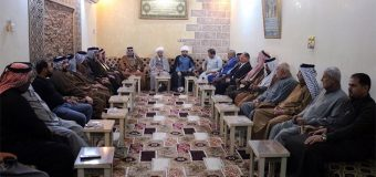 Delegations from Office of Grand Ayatollah Shirazi Visit Tribes in Basra