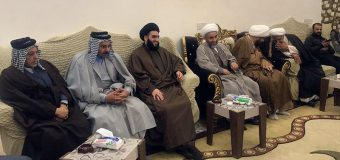 Representative of Grand Ayatollah Shirazi Visits Religious, Tribal and Social Figures in Iraq