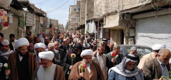 Karbala Community Visits Shrine of Lady Zainab Peace Be Upon Her in Damascus